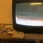 "C64 CP/M - Zork game, in 80 column text using ""Soft80""."