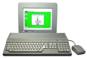Atari ST520 with color monitor