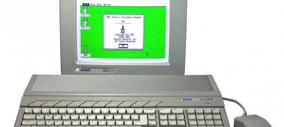 Atari ST520 with color monitor