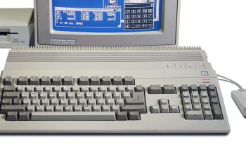 Amiga 500 with monitor