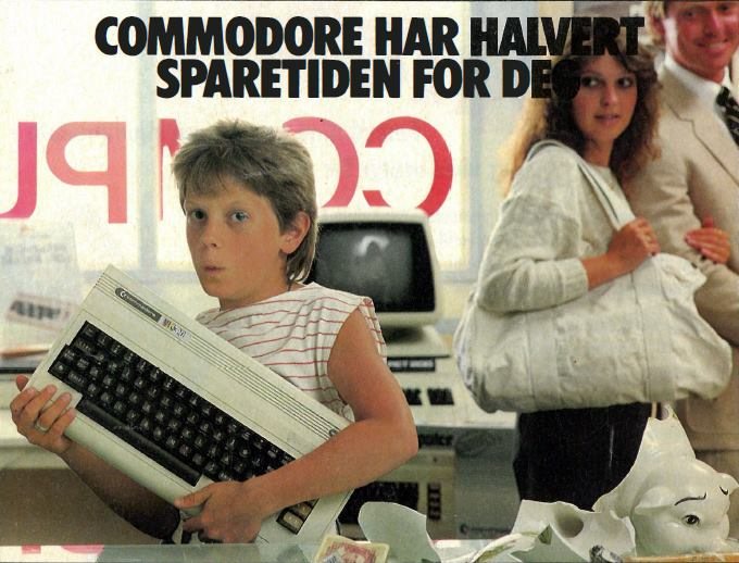 Advert from a Norwegian computer magazine.