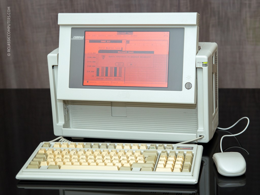 Compaq Portable III - Remi's Classic Computers