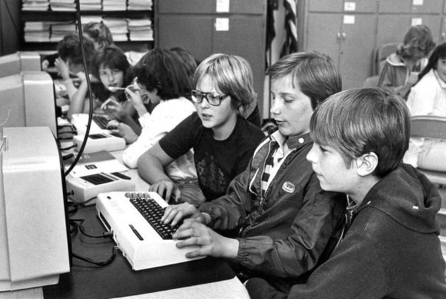 VIC-20 in school 1982