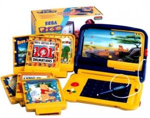 Sega Pico with game cartridges/books (Storyware)