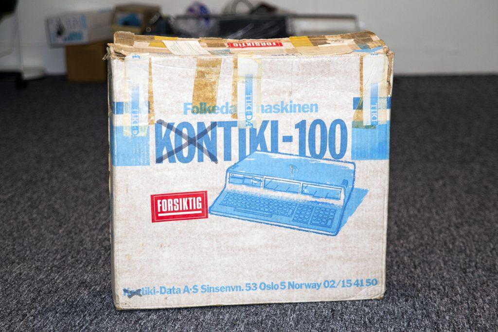 The original box, KONTIKI-100 is relabeled TIKI-100.