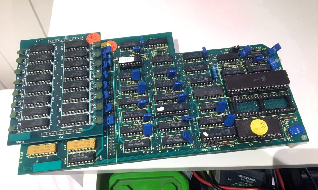 Tiki 100 - CPU card option - Intel 8088
