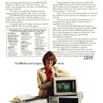 Advert for IBM PC