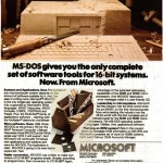 Advert for MS-DOS (1982)