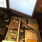 Amiga 4000 - open lid