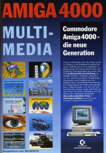 A4000 - German advert from 1993.