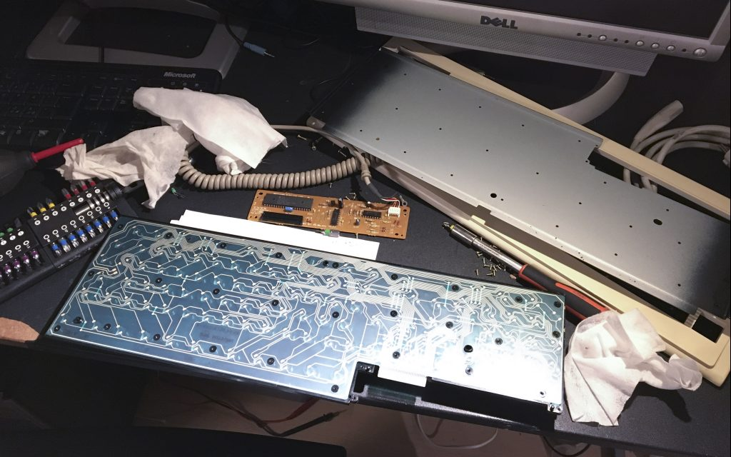 A4000 - replacing keyboard membrane