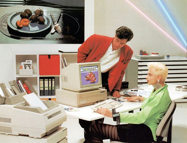 Amiga 2000 - marketing photo