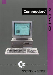 CBM PC40-III brochure cover