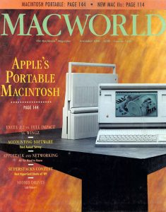 MacWorld cover, November 1989 issue
