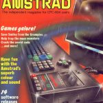 Amstrad magazine cover