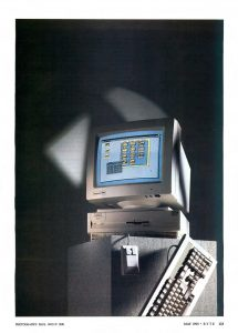 Amiga 3000 in Byte Magazine - May 1990