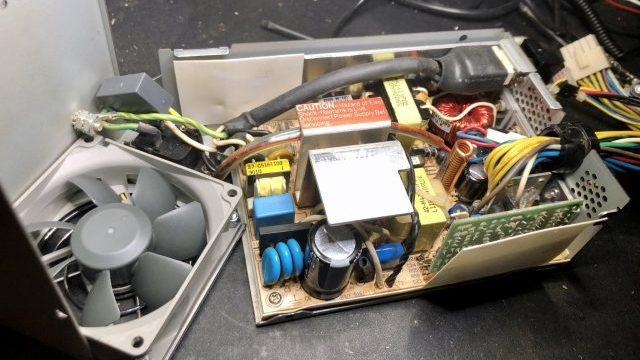 Amiga 3000 - power supply