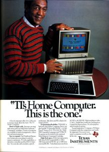 Texas Instruments TI99/4A - Bill Cosby