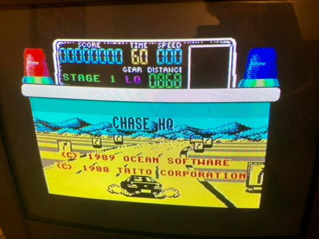 Spectrum ZX - Chase H.Q.
