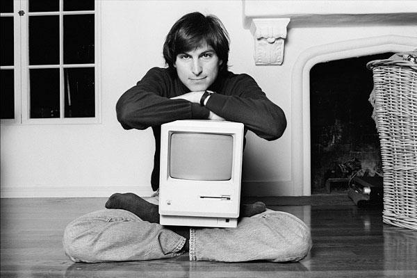 Apple Macintosh with Steve Jobs