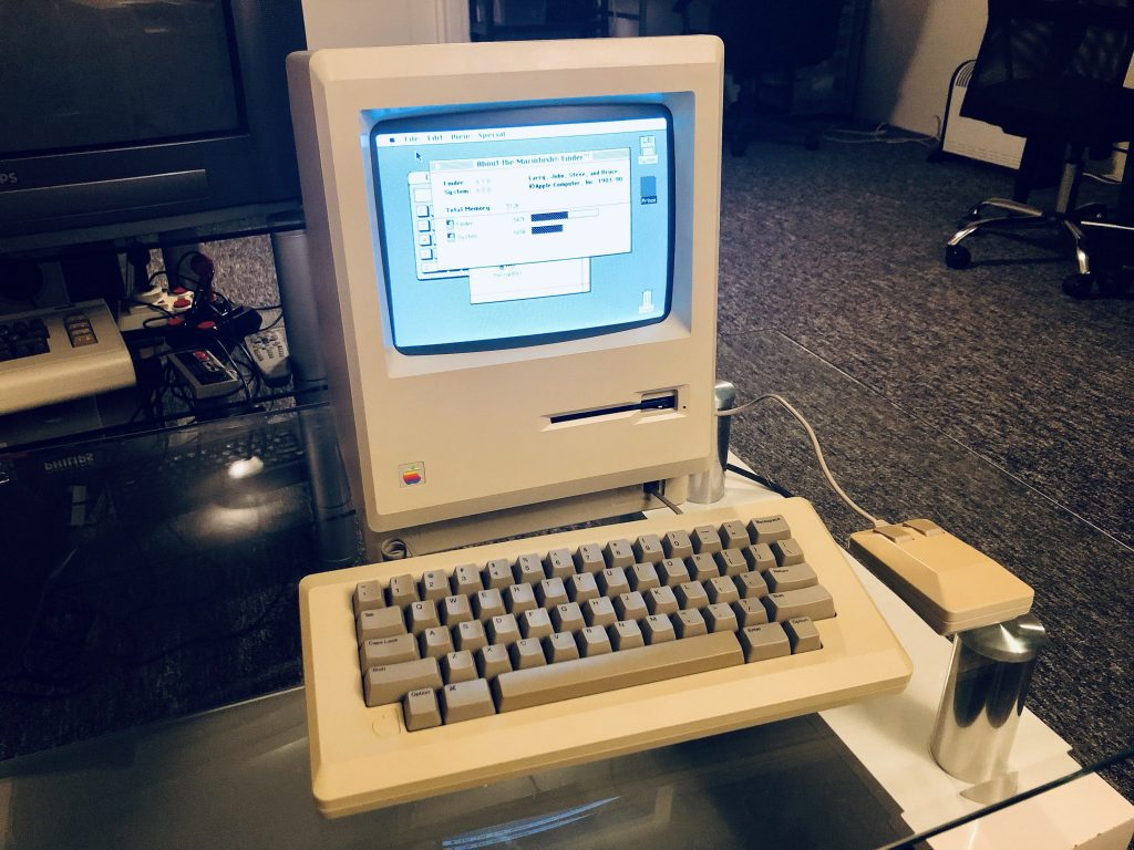 Macintosh 512k in my collection